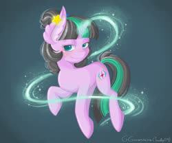 Size: 1800x1500 | Tagged: safe, oc, oc only, pony, unicorn, character, female, green, magic, mare, original character do not steal, purple, solo, sparkles