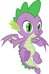 Size: 3000x4494 | Tagged: safe, artist:cloudyglow, spike, dragon, .ai available, cute, simple background, solo, spikabetes, transparent background, vector, winged spike