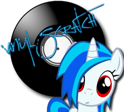 Size: 797x718 | Tagged: safe, dj pon-3, vinyl scratch, pony, confused, cute, looking at you, missing accessory, red eyes, simple background, transparent background, vinylbetes, wrong eye color