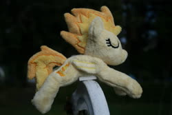 Size: 3888x2592 | Tagged: safe, artist:bastler, derpibooru exclusive, spitfire, pegasus, pony, female, irl, mare, photo, plushie, sleeping, solo