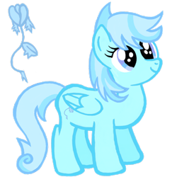 Size: 2100x2100   Tagged: safe, artist:turnaboutart, oc, oc only, oc:icy tulip, pegasus, cutie mark, pegasus oc, simple background, solo, transparent background