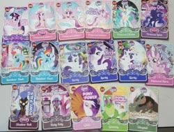 Size: 960x725 | Tagged: safe, diamond tiara, gilda, gummy, princess cadance, princess celestia, princess luna, rainbow dash, rarity, twilight sparkle, alicorn, card, collection, malaysia, twilight sparkle (alicorn)