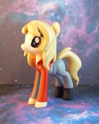 Size: 679x850   Tagged: safe, artist:krowzivitch, oc, oc:gwen demarco, earth pony, pony, female, figurine, galaxy quest, irl, mare, photo, sigourney weaver, solo