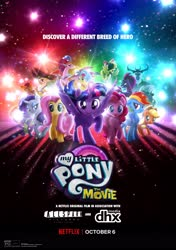 Size: 2699x3840 | Tagged: safe, dhx media, edit, applejack, capper dapperpaws, captain celaeno, fluttershy, grubber, pinkie pie, princess skystar, queen novo, rainbow dash, rarity, songbird serenade, spike, storm king, tempest shadow, twilight sparkle, alicorn, anthro, bird, dragon, earth pony, parrot, pegasus, pony, seapony (g4), unicorn, my little pony: the movie, allspark pictures, angry, armor, beauty mark, bow, broken horn, cowboy hat, ear piercing, earring, fake, female, flying, hair bow, hat, horn, jewelry, looking at you, male, mane six, mare, merchandise, movie poster, my little pony logo, netflix, piercing, pirate, pirate hat, spread wings, standing, story included, twilight sparkle (alicorn), wall of tags, what if, wings