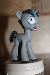Size: 2848x4272 | Tagged: artist needed, safe, party favor, pony, unicorn, 3d print, figurine, i didn't listen, meme