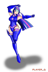 Size: 2000x3000 | Tagged: safe, artist:ultraplayerg, twilight sparkle, human, armpits, boots, clothes, gloves, humanized, long gloves, magic gaia, shoes, simple background, superhero, thigh boots, transparent background