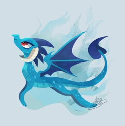 Size: 1548x1569 | Tagged: safe, artist:sibashen, princess ember, dragon, dragoness, female, flying, solo