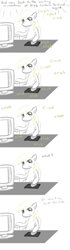 Size: 800x2838 | Tagged: safe, derpy hooves, pony, comic, computer, derpy hooves tech support, ponibooru