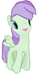 Size: 1253x2456 | Tagged: safe, artist:topsangtheman, violet twirl, pony, friendship student, gameloft, looking at you, open mouth, simple background, transparent background