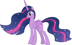 Size: 6421x4000 | Tagged: safe, alternate version, artist:melisareb, twilight sparkle, alicorn, pony, the last problem, .svg available, absurd resolution, female, inkscape, mare, older, older twilight, princess twilight 2.0, simple background, solo, sparkles, transparent background, twilight sparkle (alicorn), ultimate twilight, vector