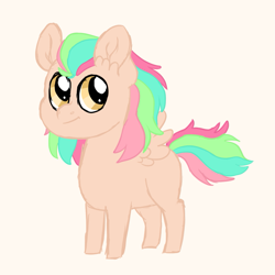Size: 1021x1019 | Tagged: safe, artist:queenderpyturtle, oc, oc only, pony, colt, male, offspring, parent:big macintosh, parent:fluttershy, parents:fluttermac, simple background, solo, white background