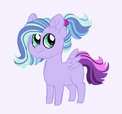 Size: 1153x1080 | Tagged: safe, artist:queenderpyturtle, oc, oc only, pony, colt, magical lesbian spawn, male, offspring, parent:rainbow dash, parent:starlight glimmer, parents:glimmerdash, purple background, simple background, solo