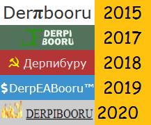 Size: 217x180 | Tagged: safe, derpibooru exclusive, edit, edited edit, derpibooru, 2015, 2017, 2018, 2019, 2020, april fools, april fools 2015, april fools 2017, april fools 2018, april fools 2019, april fools 2020, april fools joke, capitalism, comic sans, communism, cyrillic, derail in the comments, derpeabooru, derpibooru logo, deviantart, dollar, dollar sign, dollars, ea sports, fire, glimmerbooru, hammer, hammer and sickle, logo, math, meta, money, no pony, politics in the comments, russian, sickle, symbol, symbols, text edit, trademark, π