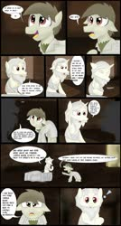 Size: 1280x2382 | Tagged: safe, artist:mr100dragon100, oc, oc:matthew, comic:new beginnings and new friends, comic, griffin (character)