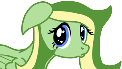 Size: 933x533 | Tagged: safe, artist:didgereethebrony, oc, oc:boomerang beauty, pegasus, pony, base used, cute, puppy dog eyes, remake, simple background, solo, trace, transparent background