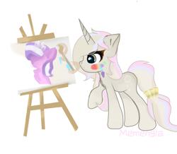 Size: 1378x1200 | Tagged: safe, artist:memengla, oc, oc:memengla, pony, unicorn, chest fluff, female