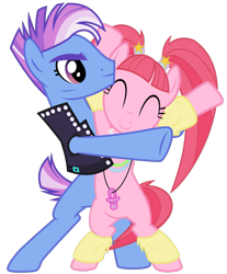 Size: 1365x1652 | Tagged: safe, artist:masem, artist:sollace, edit, editor:jdueler11, vector edit, limelight, pacific glow, earth pony, pony, the mane attraction, the saddle row review, bangs, bipedal, cheekbones, clothes, cuddling, dancer, female, furry leg warmers, glowstick, hooves in air, leather vest, leg warmers, limeglow, male, mare, pacifier, pelvic thrust, pigtails, shipping, simple background, stallion, straight, transparent background, vector, vest, waving
