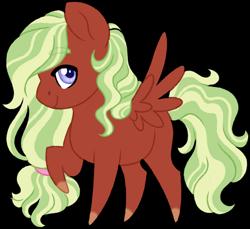 Size: 1024x936 | Tagged: safe, artist:azure-art-wave, oc, oc:marley, pegasus, pony, chibi, female, mare, simple background, solo, transparent background