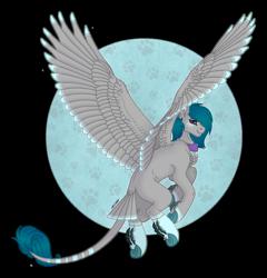 Size: 1280x1331 | Tagged: safe, artist:akumajdragon, oc, oc:snowpaw, pegasus, pony, female, mare, solo, tail feathers