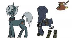 Size: 1920x1007   Tagged: safe, oc, oc:cutpurse, pony, unicorn, clothes, reference sheet, scarf, tail wrap