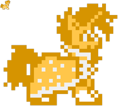 Size: 360x326 | Tagged: safe, artist:maikerutheplayer, sunburst, pony, unicorn, clothes, glasses, male, megaman, megaman x, megaman xtreme, pixel art, robe, simple background, sprite, stallion, sunburst's glasses, sunburst's robe, transparent background, video game