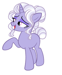 Size: 1456x1752 | Tagged: safe, artist:rosebuddity, oc, pony, unicorn, female, magical lesbian spawn, mare, offspring, parent:rarity, parent:trixie, parents:rarixie, simple background, solo, transparent background