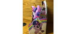 Size: 1269x577 | Tagged: safe, twilight sparkle, alicorn, baby, babylight sparkle, big crown thingy, diaper, element of magic, irl, jewelry, merchandise, photo, regalia, solo, toy, twilight sparkle (alicorn), younger