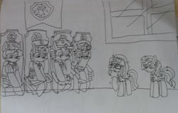 Size: 2849x1813 | Tagged: safe, artist:徐詩珮, fizzlepop berrytwist, glitter drops, sci-twi, spring rain, sunset shimmer, tempest shadow, twilight sparkle, alicorn, unicorn, series:sprglitemplight diary, series:sprglitemplight life jacket days, series:springshadowdrops diary, series:springshadowdrops life jacket days, equestria girls, alternate universe, bag, bisexual, broken horn, chase (paw patrol), clothes, cute, equestria girls ponified, female, glitterbetes, glitterlight, glittershadow, horn, lesbian, lifeguard, lifeguard spring rain, marshall (paw patrol), paw patrol, polyamory, saddle bag, shipping, skye (paw patrol), sprglitemplight, springbetes, springdrops, springlight, springshadow, springshadowdrops, tempestbetes, tempestlight, twilight sparkle (alicorn), twolight, unicorn sci-twi, zuma (paw patrol)