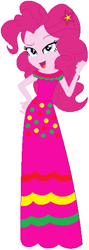 Size: 209x585 | Tagged: safe, artist:selenaede, artist:user15432, pinkie pie, human, equestria girls, base used, cinco de mayo, clothes, dress, flower, flower in hair, pink dress