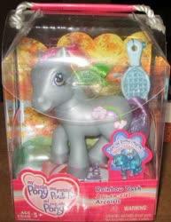 Size: 381x493 | Tagged: safe, photographer:drusilla, rainbow dash (g3), brush, french, packaging, rainbow celebration ponies, spanish, toy