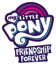Size: 523x603 | Tagged: safe, edit, edited screencap, screencap, spoiler:mlp friendship is forever, background removed, my little pony logo, pony history, simple background, transparent background