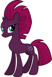 Size: 4000x5956 | Tagged: safe, artist:melisareb, fizzlepop berrytwist, tempest shadow, pony, unicorn, my little pony: the movie, .svg available, absurd resolution, female, inkscape, looking at you, mare, show accurate, simple background, solo, transparent background, vector