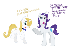 Size: 4000x2733 | Tagged: safe, artist:carnifex, prince blueblood, rarity, pony, unicorn, colored, elusive, female, male, mare, princess bluebelle, rule 63, simple background, stallion, transparent background