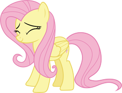 Size: 10000x7592 | Tagged: safe, artist:brotaraft, fluttershy, pegasus, pony, the last problem, .ai available, .svg available, absurd resolution, cute, eyes closed, female, shyabetes, simple background, smiling, solo, transparent background, vector