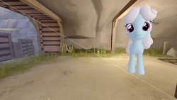 Size: 1280x720 | Tagged: safe, alternate version, artist:topsangtheman, linky, shoeshine, earth pony, pony, 3d, looking at you, solo, source filmmaker