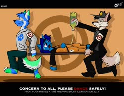 Size: 1597x1234 | Tagged: safe, artist:wolfjedisamuel, oc, oc only, oc:peteian, anthro, pony, unicorn, wolf, clothes, cosplay, costume, digital art, female, furry, horn, mare, medic, mountain dew, naruto, naruto shippuuden, red cross, shoes, soda, text