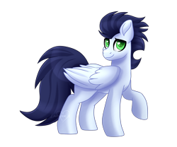 Size: 6000x5000 | Tagged: safe, artist:lavenderheartsmlp, soarin', pegasus, pony, absurd resolution, colored pupils, cute, heart eyes, looking at you, male, simple background, soarinbetes, solo, stallion, transparent background, wingding eyes