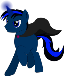 Size: 1606x1902   Tagged: safe, artist:rd4590, oc, oc:midnight star, pony, unicorn, cape, charging, clothes, magic, magic aura, simple background, transparent background, vector, wizard