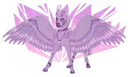 Size: 900x545 | Tagged: safe, artist:sadelinav, oc, oc only, zebra, zebrasus, male, simple background, solo, spread wings, transparent background, wings