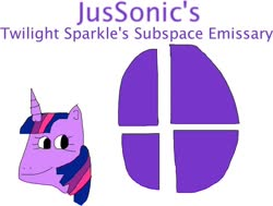 Size: 900x682 | Tagged: safe, artist:jacobyel, twilight sparkle, parody, super smash bros.