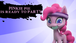 Size: 1920x1080 | Tagged: safe, edit, edited screencap, screencap, pinkie pie, earth pony, pony, my little pony: pony life, pinkie pie wants to play, female, looking at you, mare, solo, stop motion, super smash bros.