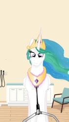 Size: 576x1024 | Tagged: artist needed, source needed, safe, princess celestia, jewelry, medical saddlebag, necklace, stethoscope