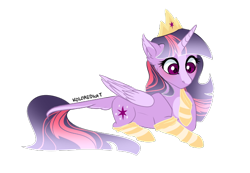 Size: 618x427 | Tagged: safe, artist:koloredkat, twilight sparkle, alicorn, alternate design, clothes, crown, jewelry, putting on clothing, regalia, simple background, socks, solo, transparent background, twilight sparkle (alicorn)