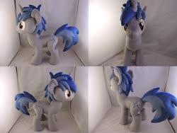 Size: 1597x1199 | Tagged: safe, artist:little-broy-peep, oc, oc:arcane thunder, pony, unicorn, irl, male, photo, plushie, solo, stallion