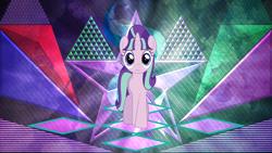 Size: 3840x2160 | Tagged: safe, artist:laszlvfx, artist:wissle, starlight glimmer, pony, s5 starlight, solo, wallpaper