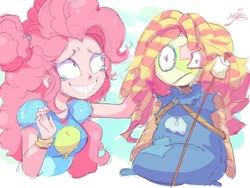 Size: 2000x1500 | Tagged: safe, artist:aetherionart, pinkie pie, human, smiling, solo