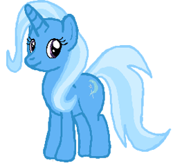 Size: 277x260 | Tagged: safe, artist:qjosh, trixie, unicorn, simple background, white background
