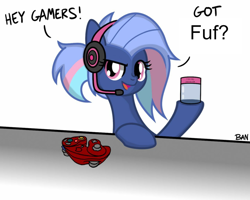 Size: 848x677   Tagged: safe, artist:banquo0, edit, oc, oc:bit rate, controller, fuf, gamecube controller