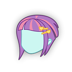 Size: 256x256 | Tagged: safe, sunny flare, equestria girls, equestria girls app, head, no face, simple background, solo, transparent background
