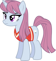 Size: 3000x3250 | Tagged: safe, artist:jeatz-axl, lipstick vanity, pony, unicorn, buckball season, buckball uniform, female, mare, simple background, transparent background, vector